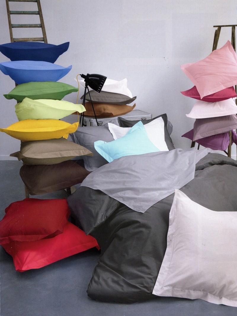 Linge de lit coton easy care la traboule for Linge de lit